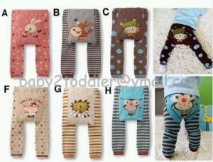 Animal Legging (crazy sale for pattern A, H & I size 90 & 95 only)