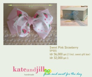 PITA JEPIT Sweet Pink Strawberry