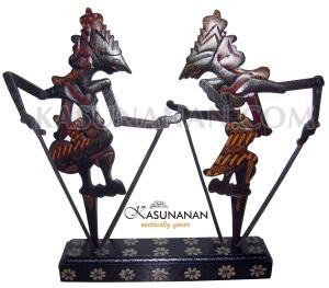 Wayang Kayu Rama Sinta Set