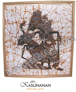 Batik Painting Rama Shinta