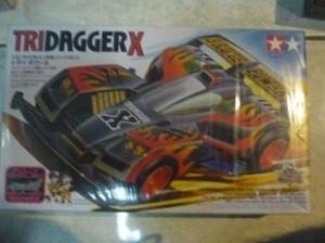 TAMIYA Mini 4WD Tridagger X