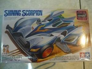 TAMIYA Mini 4WD Shining Scorpion [ Super Rare ]