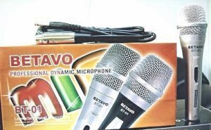 LEGENDARY DYNAMIC MICROPHONE BETAVO BT-01