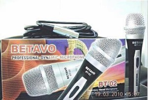LEGENDARY DYNAMIC MICROPHONE BETAVO BT-02
