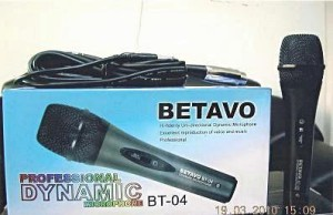 LEGENDARY DYNAMIC MICROPHONE BETAVO BT-04