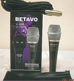 LEGENDARY DYNAMIC MICROPHONE BETAVO V-707