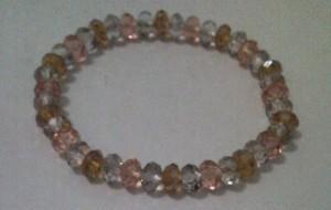 Gelang Kristal Cheko (3 Warna)