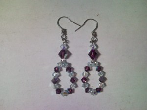 Anting Mystic In Amethyst