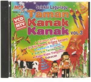 Seleksi Lagu Taman Kanak Kanak vol 3