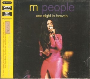 M People - One Night In Heaven (Vcd 2 Disc)