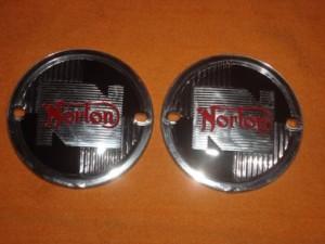 Emblem Chrome Norton