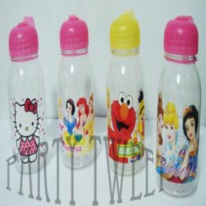 Drinking Bottle - Botol Minum Karakter Bening
