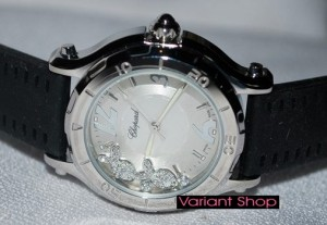 Chopard Fish Swarovski Inside (Black-Silver)