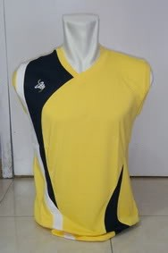Kaos Olahraga Sleeves Saporete (Yellow)
