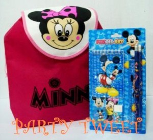 KadoUltah Murah Meriah - MInnie GoodyBag Ransel