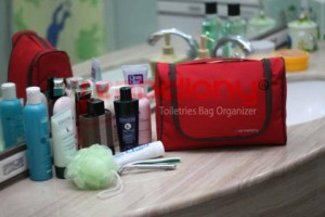 Toiletries Bag Organizer _ TBO Merah