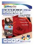 Blueprint Photo Paper (BP-GPA4190) - A4, 20 Sheet, 190 Gsm, Cast Coasting, Glossy, Water Resistant