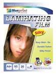 Blueprint Laminating Silky Film (BP-SFA485)- A4, 20 Sheet, 55um, Laminating, Silky