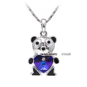 KalungSwarovski Crystal Elements Necklace - Bear