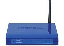 TRENDnet TEW-435BRM Wireless G ADSL Firewall Modem Router