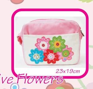 Tas Anak Five Flowers
