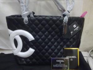 Chanel Branded Black-White