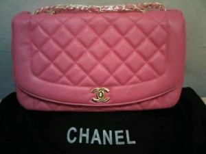 New chanel classic pink