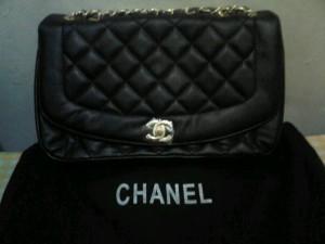 New chanel classic black