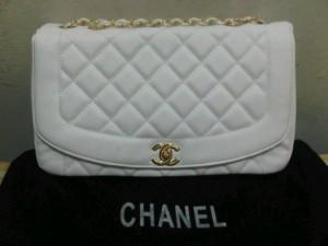 New chanel classic white
