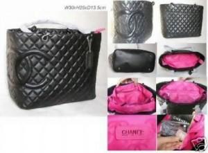 Chanel Branded Black