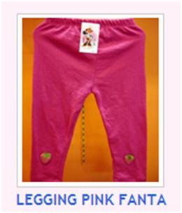 LEGGING PINK FANTA