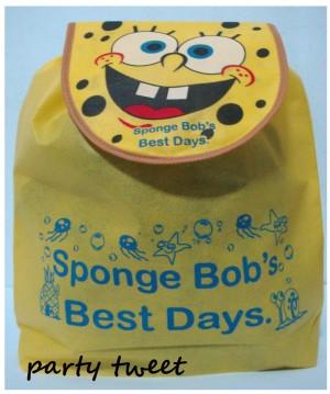 Goody Bag Ransel - Spongebob
