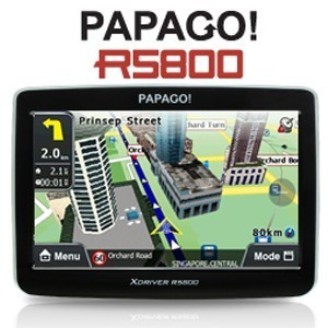 Papago R5800 X5 + Peta Indonesia