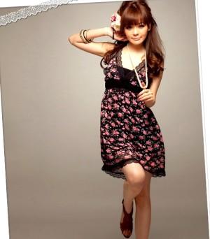 Romantic Rose Dress