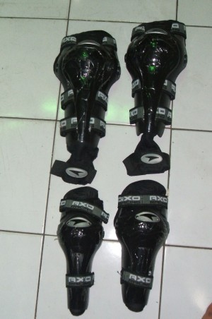 Protector Sikut Dan Lutut Merk Axo