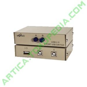 USB Manual Data Switch 2 Port