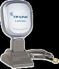 TP-LINK TL-ANT2406A: 2.4GHz  6dBi Indoor Desktop Yagi-Directional Antenna, RP-SMA Male (Plug)