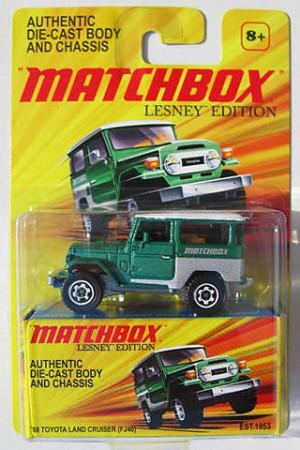 Matchbox Lesney Land Cruiser 2010