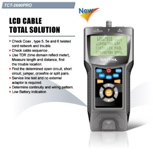 GOLDTOOL TCT-2690 PRO LCD CABLE TOTAL SOLUTION