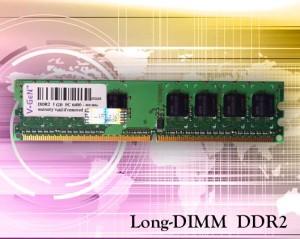 V-GEN Long DIMM-DDR2 PC5300/6400-1 GB