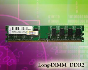 V-GEN Long DIMM-DDR2 PC5300 2 GB