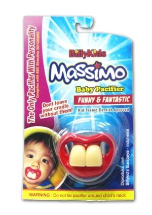 Massimo Baby Pacifier - Dot Bayi Lucu & Unik (IMPORT)