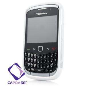 Capdase Original Softjacket Fuze Blackberry Gemini 8520 / 9300 White
