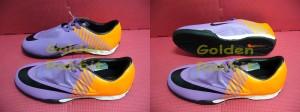 Sepatu Futsal Nike Superfly Vapor Elite Violet Orange