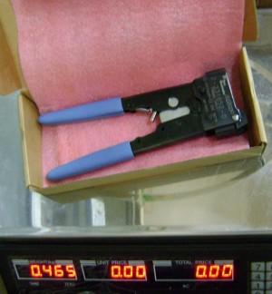 Crimping Tool Cat 5 AMP