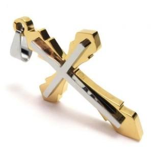 Kalung Simple Golden Cross