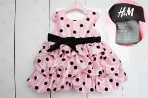 H&M PARTY DRESS PINKp