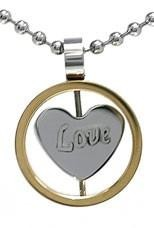 Kalung GoldCircle Love