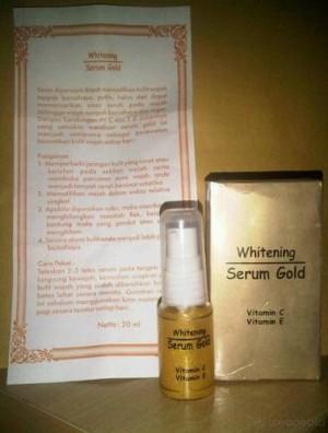WHITENING SERUM GOLD TERMURAH