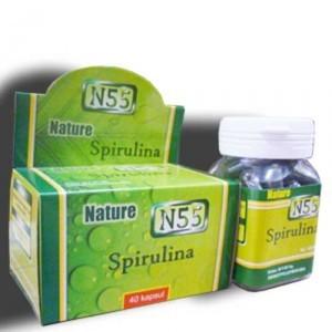 Nature Spirulina N55 70 Capsule